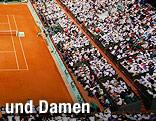 Roland Garros Stadion in Paris