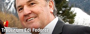 Skisprung-Trainer Edi Federer