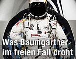 Felix Baumgartner im Sprunganzug