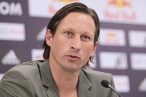 Der neue Cheftrainer von Red Bull Salzburg Roger Schmidt