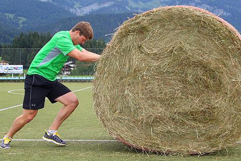"""Florian Scheiber beim """"Warrior-Training"""""""