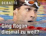 Markus Rogan im Wasser