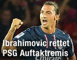 APA/EPA/Stephane Reix<br /> Zlatan Ibrahimovic (Paris Saint Germain)
