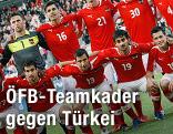 Mannschaftsfoto des ÖFB-Teams