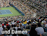 Tennisplatz der US Open