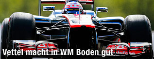 Jenson Button im McLaren Mercedes
