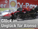 Crash von Alonso