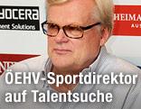 Alpo Suhonen, Sportdirektor des österreichischen Eishockey-Verbands (ÖEHV)