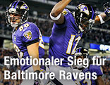Jubel der Baltimore Ravens