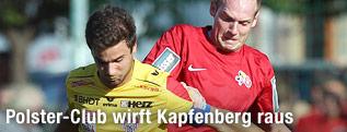 Dieter Elsneg (Kapfenberg) gegen Bernhard Ungerboeck (Viktoria)