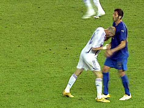 Zidane Kopfstoß