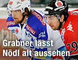 Andreas Nödl (Innsbruck) und Michael Grabner (VSV)