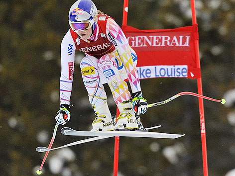 Lindsey Vonn in Lake Louise