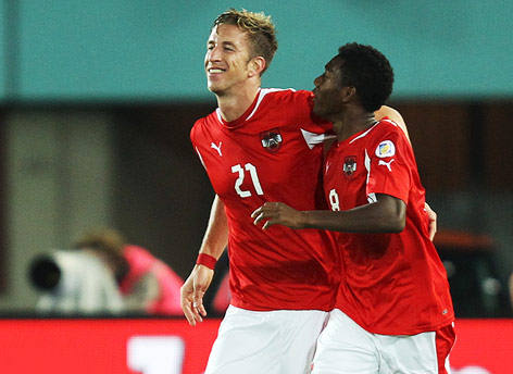 David Alaba, Marc Janko