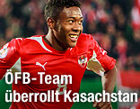 David Alaba jubelnd