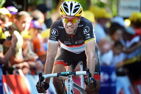 Jens Voigt bei der Tour de France 2012
