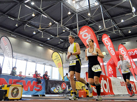 Indoor-Marathon im Messezentrum