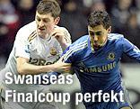 Davies (Swansea), Hazard (Chelsea)