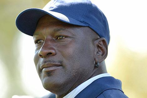 Michael Jordan bei einem Benefiz-Golfturnier