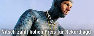 Apnoe-Taucher Herbert Nitsch