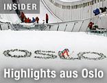 Skispringer in Oslo