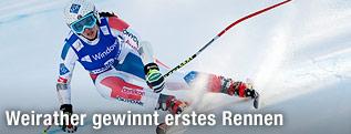 Tina Weirather beim Super-G in Garmisch-Partenkirchen