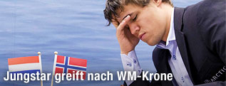 Schachspieler Magnus Carlsen