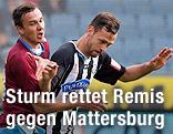 Manuel Prietl (Mattersburg) und Michael Madl (Sturm)