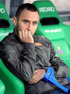 Verletzter Rapid-Spieler Steffen Hofmann