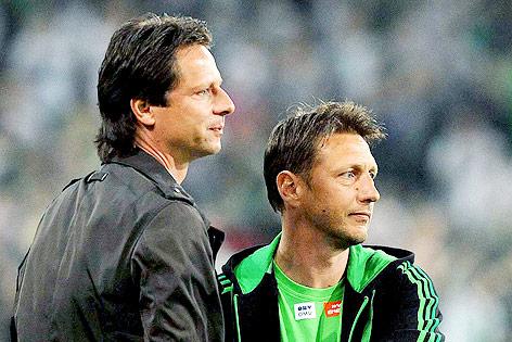 Peter Schöttel und Zoran Baricis