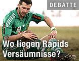 Enttäuschter Guido Burgstaller (Rapid)