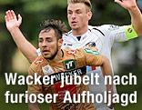 Christian Schilling (Wacker) und Michael Sollbauer (WAC)