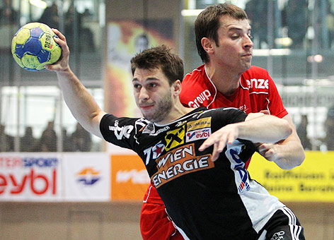 Marko Tanaskovic (Hard) und Martin Fuger (Fivers)