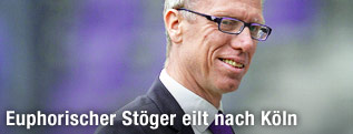 Ex-Autstria-Coach Peter Stöger lächelt