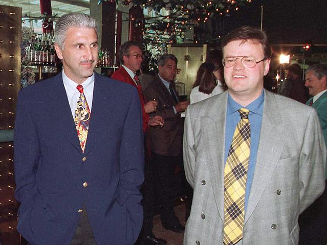 Hans Krankl (li) und Klaus Mair