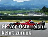 Michael Schumacher 2003 auf dem Spielbergring