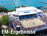 Beachvolleyball-Court in Klagenfurt