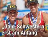 Doris und Stefanie Schwaiger mit Goldmedaille