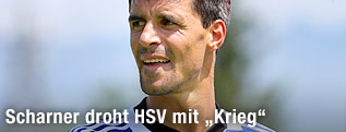 Paul Scharner im HSV-Dress