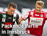 Daniel Schuetz (Wacker) und Patrick Moeschl (Ried)