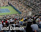 Tennisplatz der US Open