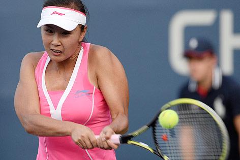 Tennisspielerin Shuai Peng