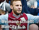 Aston Villa's Andreas Weimann