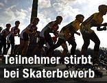 Skater beim Berlin-Halbmarathon