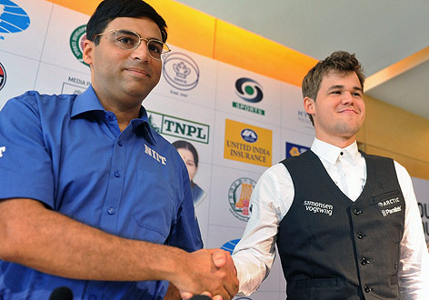 Viswanathan Anand, Magnus Carlsen