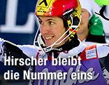 Marcel Hirscher lächelt