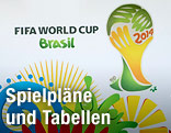 Logo der Fußball-WM 2014 in Brasilien