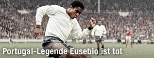 Eusebio beim Spiel gegen die UDSSR