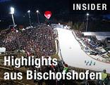 Zielbereich in Bischofshofen