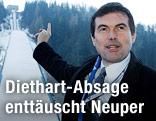 Hubert Neuper vor dem Kulm